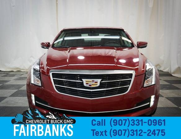 Photo 2015 Cadillac ATS Coupe 2dr Cpe 3.6L Luxury AWD - $26999 (2015 Cadillac ATS Coupe)