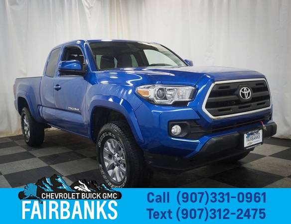 Photo 2016 Toyota Tacoma 4WD Access Cab I4 AT SR5 - $26,999 (2016 Toyota Tacoma)
