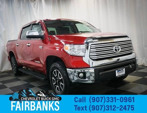 Photo 2017 Toyota Tundra Limited CrewMax 5.5 Bed 5.7L - $44,999 (2017 Toyota Tundra)