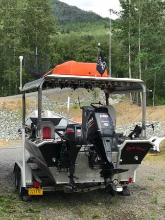 Photo 2239 Custom Welded Skiff - $25,000 (Eagle River)