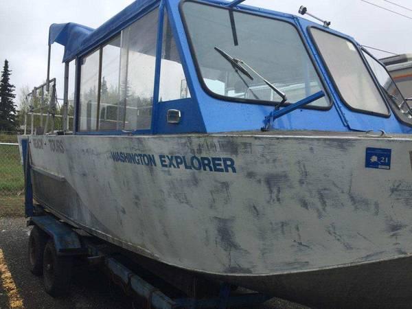 Photo 24 FT Twin Engine Custom Jetboat $15,000 OBO - $15,000 (Wasilla)