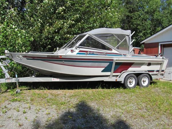 Photo 2539 Aluminum Jet Boat - $22,000 (Wasilla)