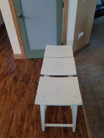 Photo 3 Pier One bar stools - $150 (Fairbanks)