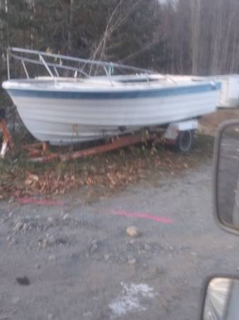 Photo Boat and trailer for sale - $1,000 (Girdwood)