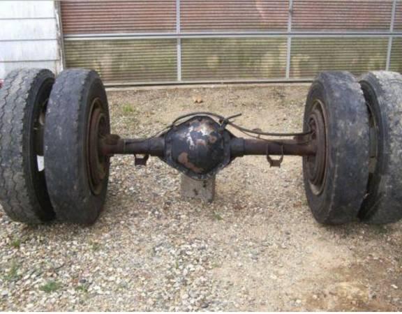 Photo Dodge Dana 80 dually rear axle assembly looking for - $400 (Fairbanks)