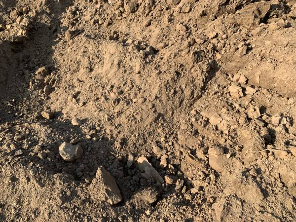 Photo Excellent Top Soil Dirt Gardening lawn material landscaping - $12 (Delta Junction)