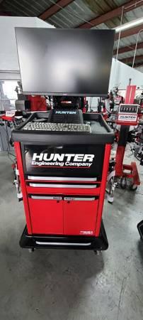 Photo HUNTER Heavy Truck Alignment Machine Used Nice Tire Changer Balancer - $7,600 (Naples)
