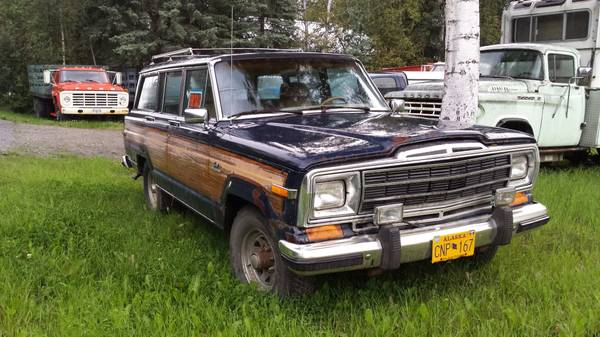 Photo Jeep project - sale - trade for aluminum boat - $950 (Fairbanks)