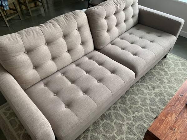 Photo Pier One Sofa - $650 (Fairbanks)