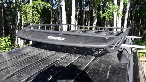 Photo Thule Canyon Roof Rack with Extension - $300 (Fairbanks)