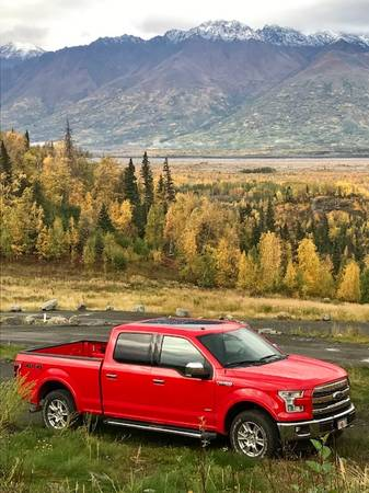 Photo Trade my like new F150 for a Hewescraft Hard Top - $1 (Anchorage)