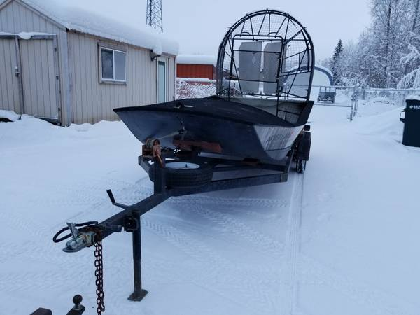 Photo Weaver Airboat Hull and Trailer - $3500 (Chena Pump Rd)