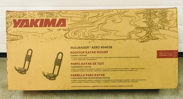 Photo Yakima Kayak roof rack carrier - $75 (Fairbanks)