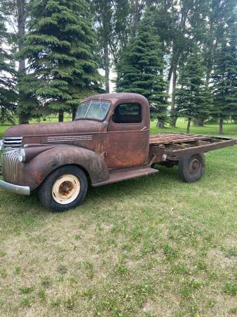 Photo 1946 Chevy Pickup - $3,500 (West central Mn)