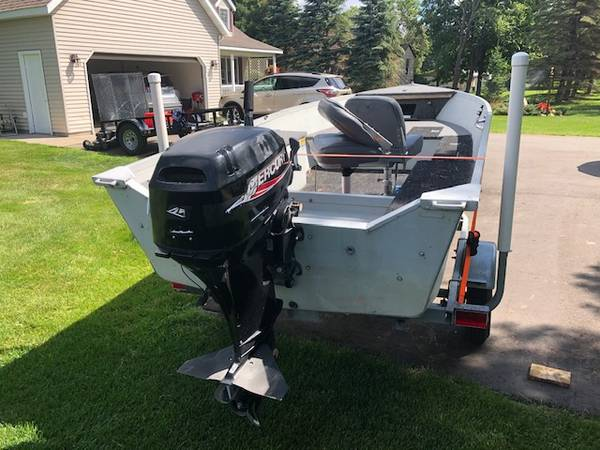 Photo 1996 Alumnacraft Lunker V14 Limited - $3,000 (Pickerel Lake, Otertail County MN)