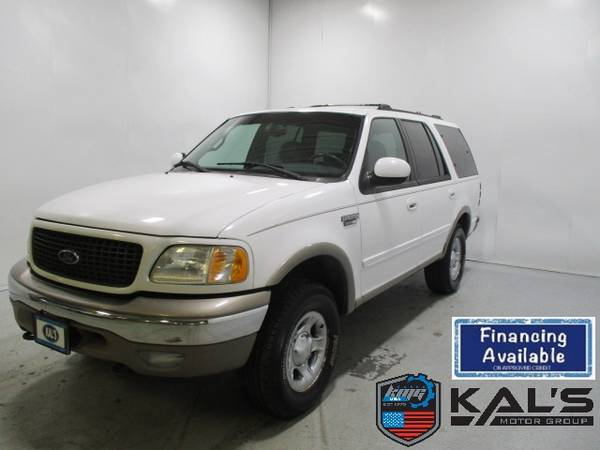 Photo 2001 Ford Expedition 119 WB Eddie Bauer 4WD - $3990 (Wadena)