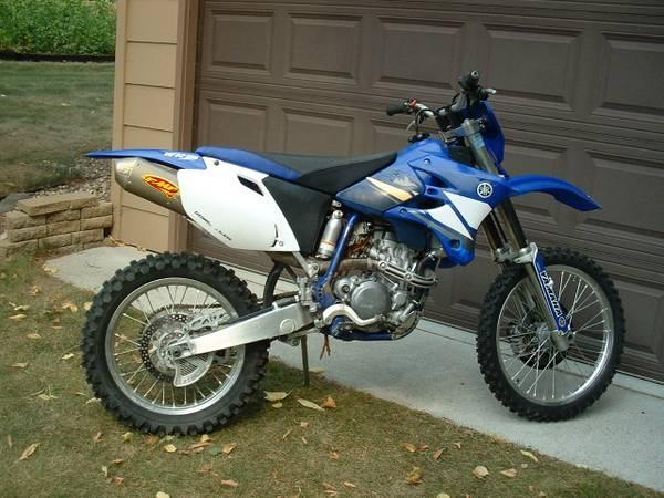 Photo 2003 Yamaha WR250F - $3,000 (FERGUS FALLS)