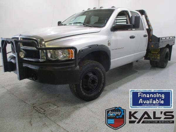 Photo 2004 Dodge Ram 3500 4dr Quad Cab Truck 160.5 - $15990 (Wadena)