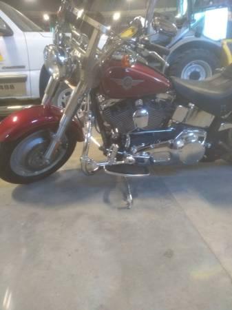Photo 2004 Harley fat boy - $8,500 (south fargo ND)