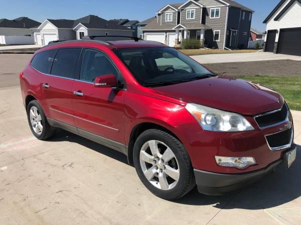 Photo 2012 Chevy Traverse LTZ - $10500 (Fargo, ND)