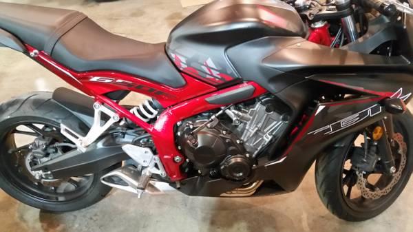 Photo 2016 Honda CBR 650F - $6,300