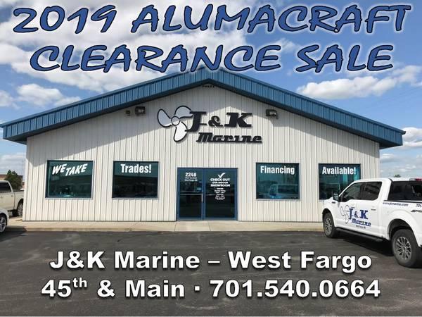 Photo 2019 Alumacraft Clearance -- SAVE $$$$$ (JK Marine - West Fargo)