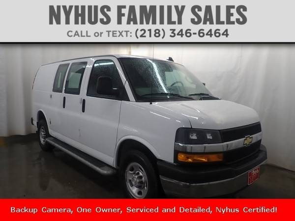 Photo 2019 Chevrolet Express Cargo Van Work Van - $35,750 (Delivery Available)