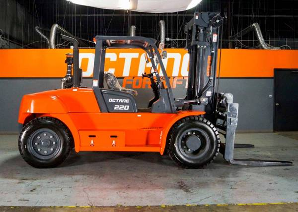 Photo 2021 Octane Forklift Pneumatic Tire 4 Wheel Sit Down Two Stage (FARGO)