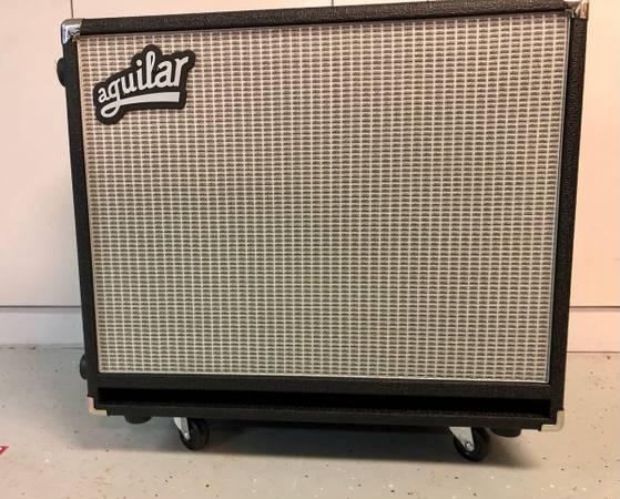 Photo Aguilar DB 115 400-watt 1x15quot Bass Cabinet Classic Black 8 Ohm - $450 (Sartell)