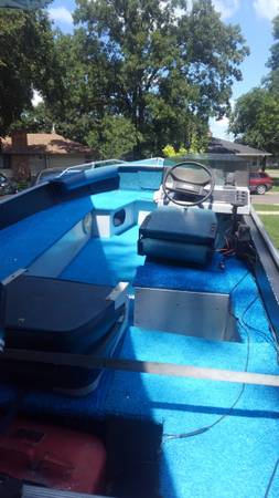 Photo Alumnacraft Boat and motor - $2,250 (Fargo)