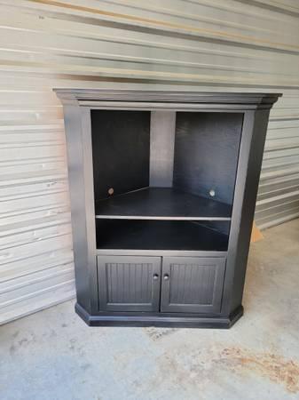Photo Corner TV stand - $75 (Fargo)