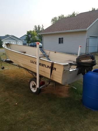 Photo Crestliner boat for sale - $1,200 (Glyndon)