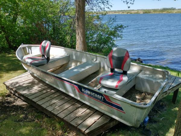 Photo Fishing Boat and Motor For Sale - $1,200 (Valley City, ND)