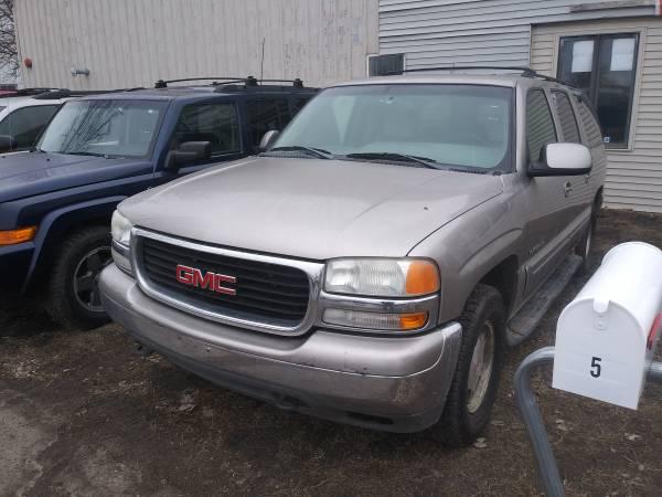 Photo KEEP THE LIGHTS ON SALE 2001 GMC YUKON XL 4X4 - $2000 (1918 E. MAIN AVE, West Fargo 58078)