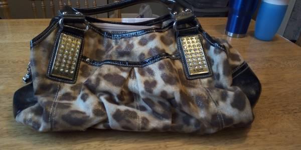 Photo Kathy Van Zeeland purse - $10 (Moorhead)