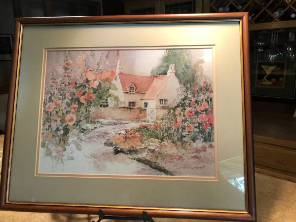 Photo Lovely pastel water color print - $35 (LAKE PARK)