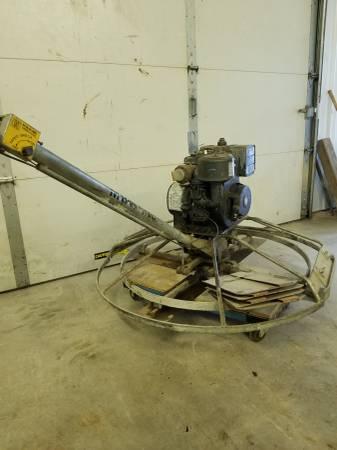 Photo MBW 42quot Power Trowel Machine wfloat  finish blades - $775 (Harwood)