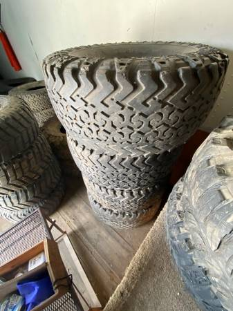 Photo Mud  Truck Pull Tires and Lift Kit - $250