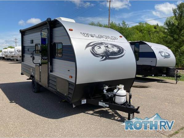Photo NEW 2021 FOREST RIVER RV CHEROKEE WOLF PUP 16BHS Just Arrived - double - $18,995 (Deerwood)