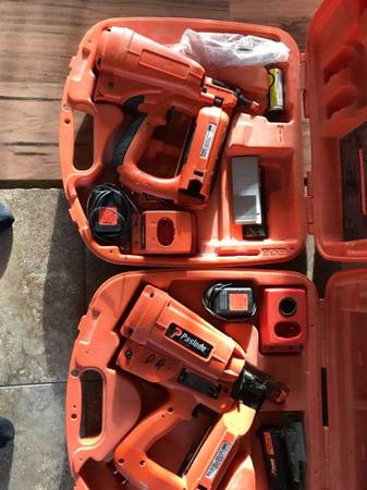 Photo Paslode Cordless Impulse Nail Guns - $175 (Moorhead)
