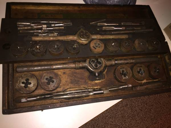 Photo Tap and Die Set Machinist Tools - $100 (Ottertail)