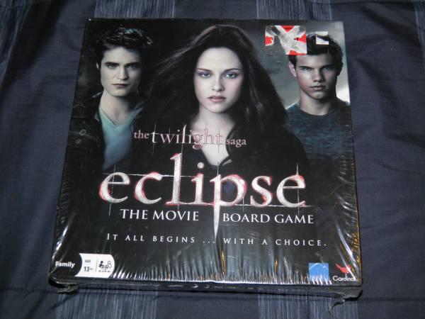Photo The Twilight Saga Eclipse Movie Board Game NEW - $10 (West Fargo)