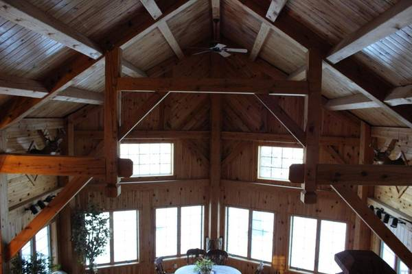 Photo Timber Frame Home (Perham,Mn)
