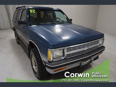 Photo Used 1992 Chevrolet S10 Blazer 4WD 4-Door for sale