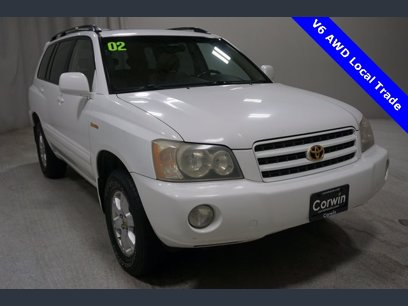 Photo Used 2002 Toyota Highlander V6 for sale