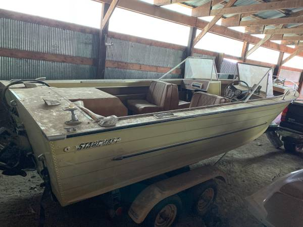 Photo Vintage 1969 Starcraft Boat - $1,200 (Mott)