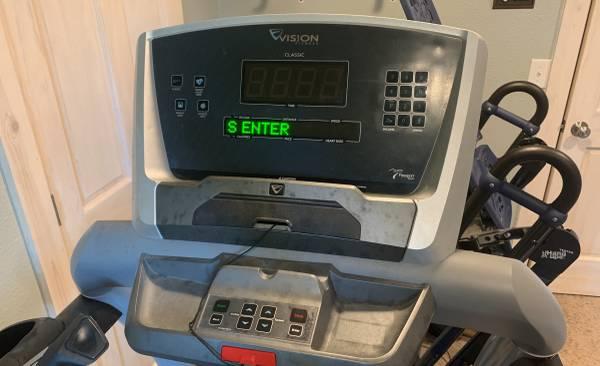 Photo Vision Fitness Treadmill - $1 (Fergus Falls)