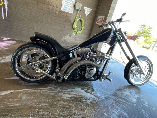 Photo 04-custom built twin cam 1550cc Harley Davidson $40k worth of receipts - $10,500 (Sedona c verde can deliver)
