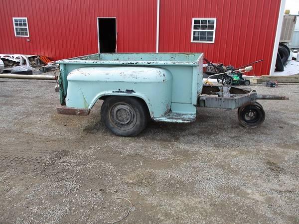 Photo 1955-1959 Chevy Stepside Shortbed Pickup Trailer - $550 (Farmington)