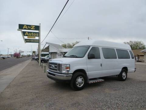 Photo 2012 Ford E-350 handicap van - $16000 (Farmington nm)